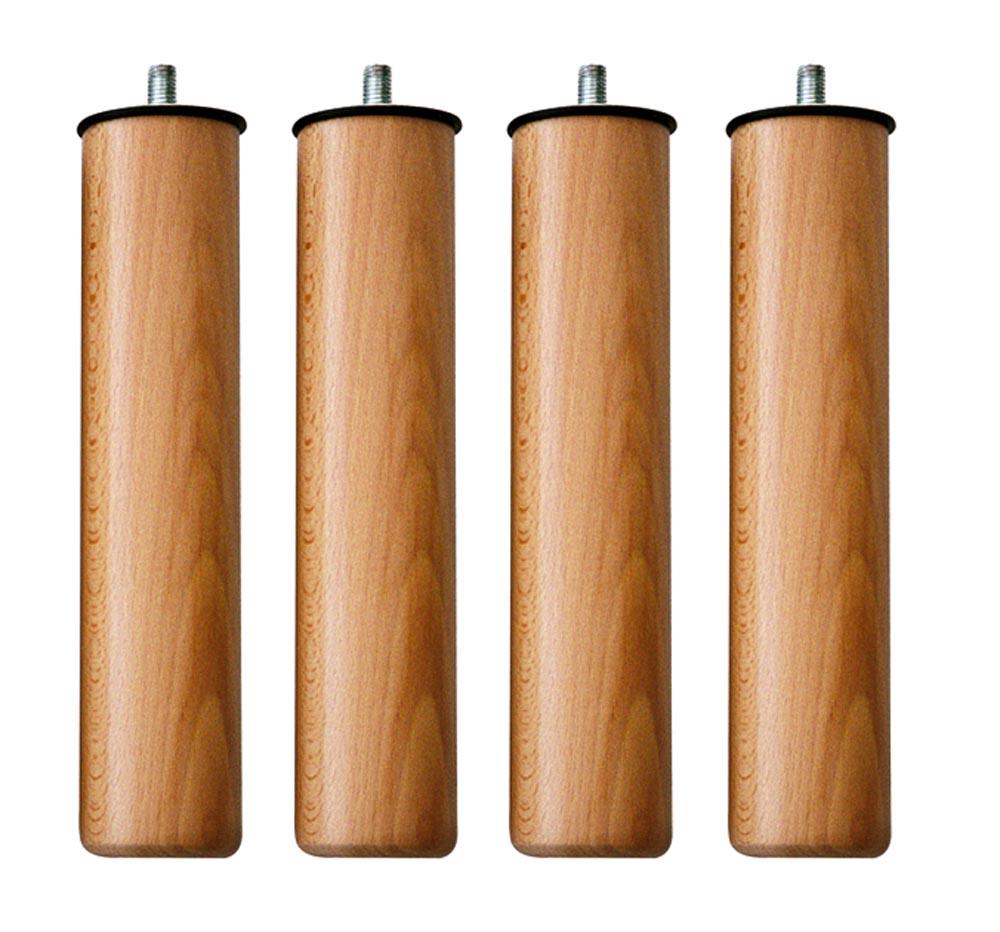 Patas madera natural