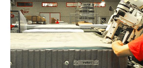 Procesos de fabricación de colchones Relax